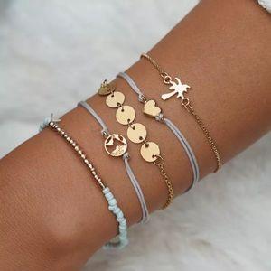 Jewelry - Hawaiian vacation bracelet set